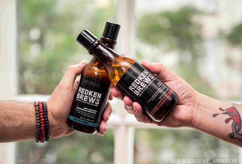 REDKEN BREWS MAN - The first line beard and hair for the man based on malt - Ermanno Mossio - Salone parrucchieri - Alba e Bra (CN)